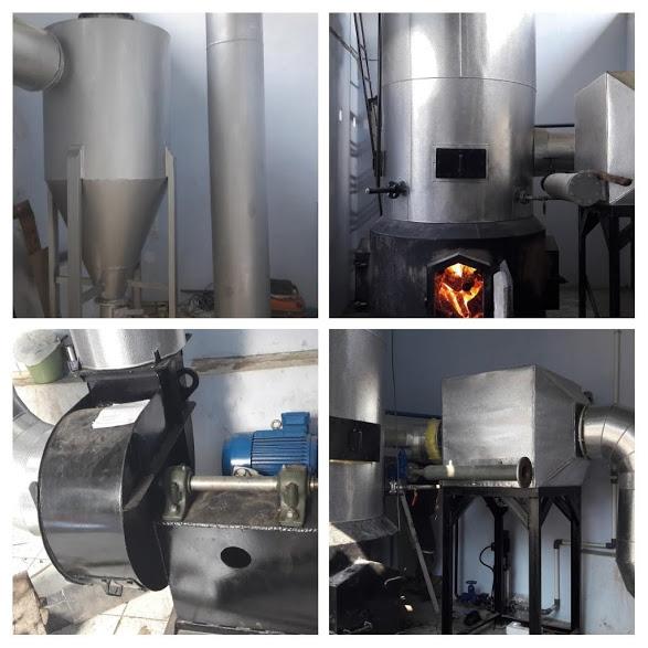 Boiler bahan bakar kayu
