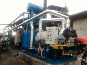 jual thermal oil heater AMP