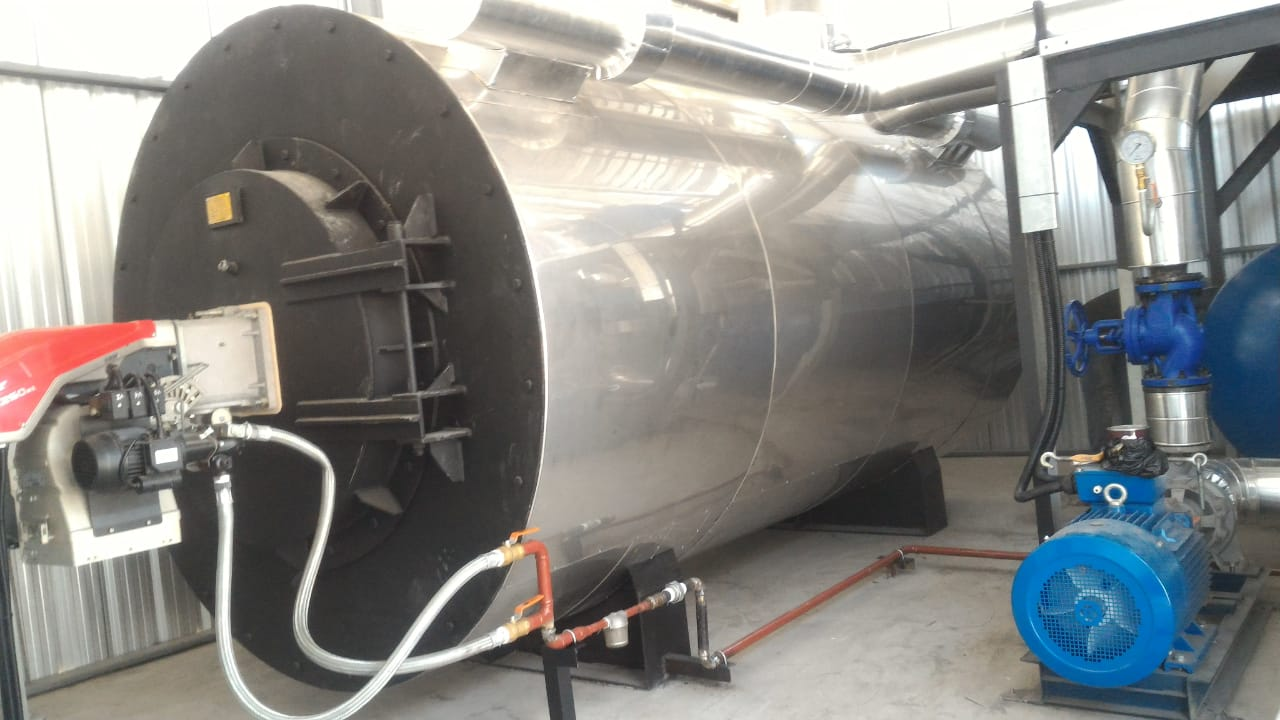 Thermal Oil Heater Ships